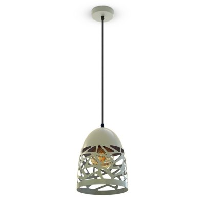 Image of   V-Tac Pendel lampe - Mat grå, metal, E27