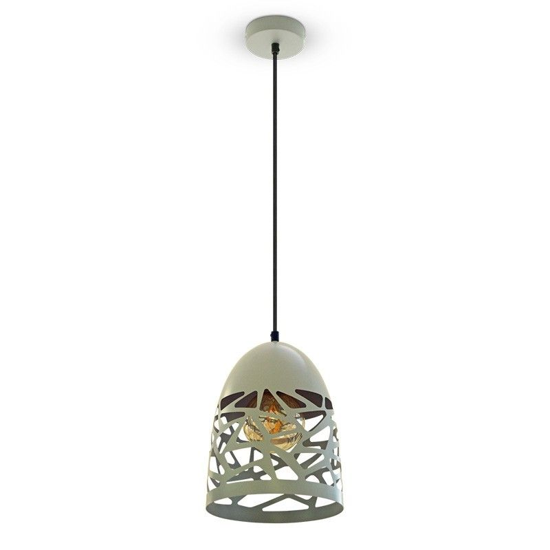 V Tac Pendel lampe Mat grå, metal,