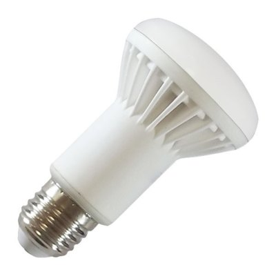 Image of   V-Tac 8W LED spotpære - R63, E27 - Kulør : Varm, Dæmpbar : Ikke dæmpbar