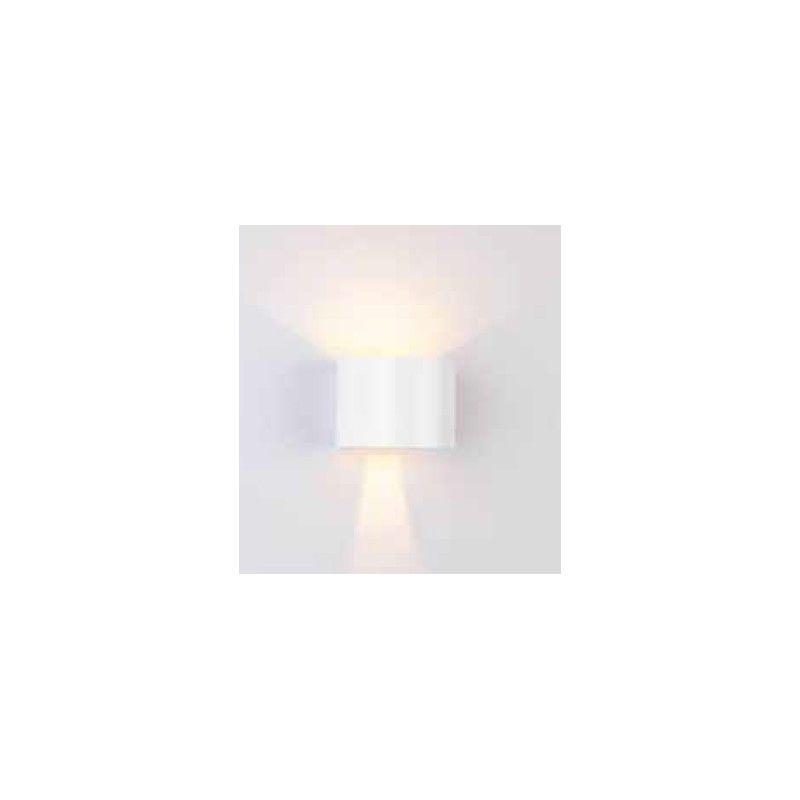 V Tac 6W hvid v u00e6glampe rund, justerbar spredning
