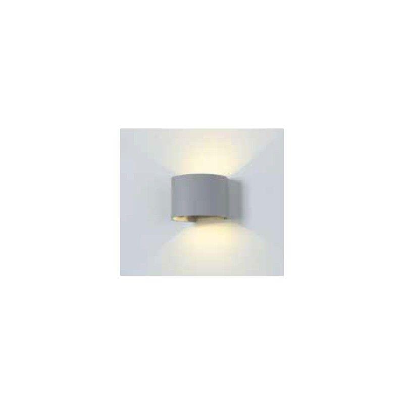 V Tac 6W grå v u00e6glampe rund, justerbar spredning
