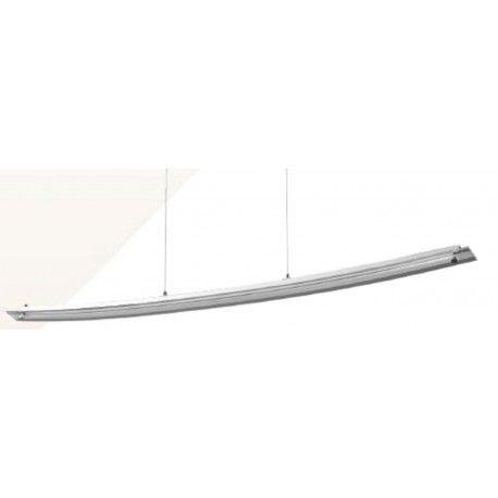 Designer 18W LED nedhængt loft armatur - 98cm, 4000K, 230V, inkl. lyskilde
