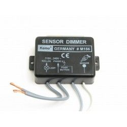 Touch lysdæmper -  1000W, benyt kip-kontakt eller sensor, Kemo, M156