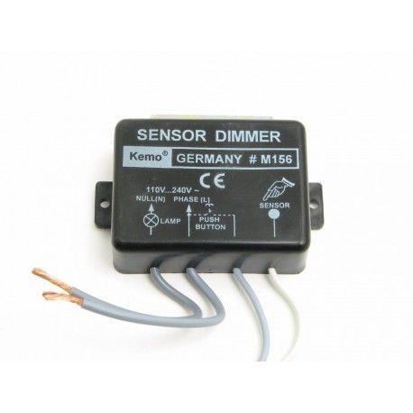 Kemo M156 touch lysdæmper - 200W, kip-kontakt eller sensor