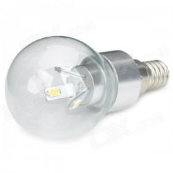 RS.E14.5w.klar.LM: RESTSALG: LED E14, 5W, klar glas, varm hvid