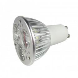 RESTSALG: LED MR16, 6w, varm hvid, dæmpbar, 12V