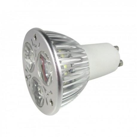 LED MR16, 6w, varm hvid, dæmpbar, 12V