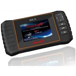 obd.icar.bmw.bm-II: iCarsoft BM-II - BMW, Mini, nulstil service og bremser, multi-system scanner