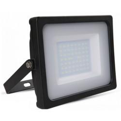 VT-4955: V-Tac 50W LED Projektør - Ny model, Tynd, SMD, 4000lm, Arbejdslampe