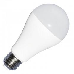 E27 Stor fatning V-Tac 9W 24V LED pære - DC: 24V, A60, Kold hvid, E27