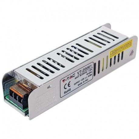 Strømforsyning 12V 5A, 60W