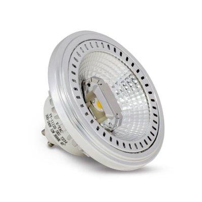 Image of   V-Tac 12W LED spot - GU10 AR111 - Kulør : Neutral, Dæmpbar : Dæmpbar