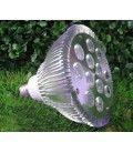 LED vækstlampe, 12w, E27, Grow lamp