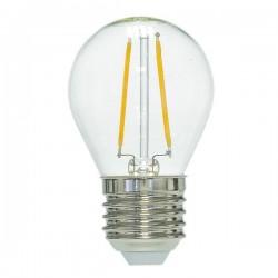 RS.E27.2w.fila.LM: RESTSALG: LED E27, 2w, varm hvid