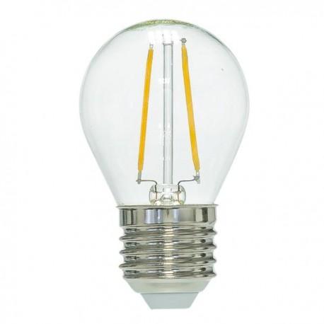 RESTSALG: LED E27, 2w, varm hvid