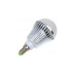 RS.E14.alu.4.LM: RESTSALG: LED E14, 4W, varm hvid