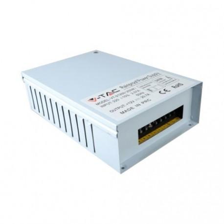 V-Tac strømforsyning - 150W, IP45, 12v, 12,5A, regntæt