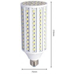 2r.30w.corn.nw: 30W LED kolbepære - 30W, Neutral hvid, 3000lm, 230v, E27