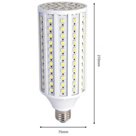 30W LED kolbepære - 30W, Neutral hvid, 3000lm, 230v, E27