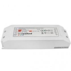 panel.driver.72w.dim: 72W Triac dæmpbar driver til LED panel - Triac forkantsdæmpning, passer til vores 72W LED paneler