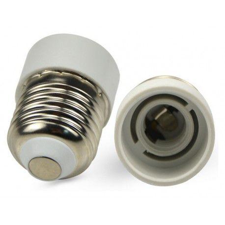 E27 til E14 adapter