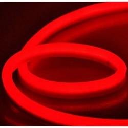LED Neon Flex 230V - 10m rulle, IP67, med stik