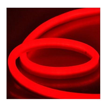 LED Neon Flex 230V - 10m rulle, IP67, 230V stik medfølger