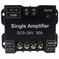 signal.amp.30A: Signal forstærker til enkelt farvede LED strips