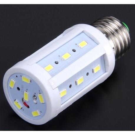 RESTSALG: LED E27, kolbe, 9W, varm hvid