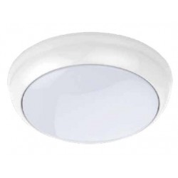 LED Loftslampe inkl. LED - 8W, IP65, neutral hvid