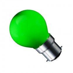 CARNI1.8 LED pære - 1,8W, grøn, 230V, B22