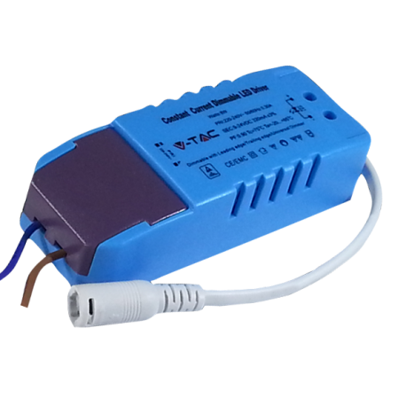 V-Tac 8W driver til 8W indbygningspaneler - Dæmpbar, 230V