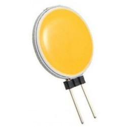 RESTSALG: LED G4, flad, 0.8W, varm hvid, 12V