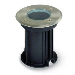 V-Tac nedgravningsspot - Rund, rustfrit stål, GU10 fatning