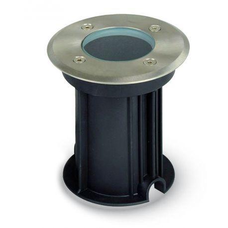 V-Tac nedgravningsspot i rustfrit stål - Med GU10 fatning
