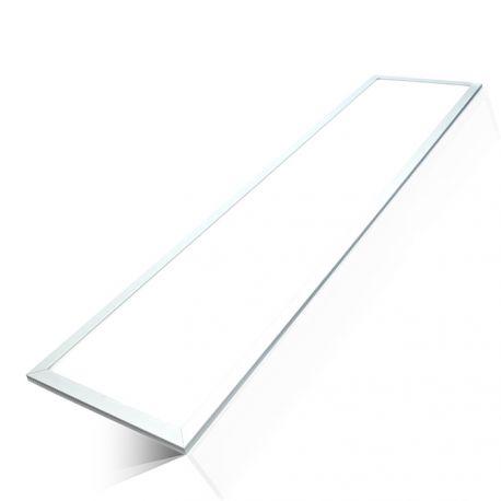 120x30 45W LED panel - 5400lm, ekstra høj lumen, hvid kant