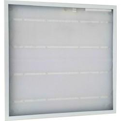 60x60-6139: 60x60 36W LED panel - 2880lm, hvid kant