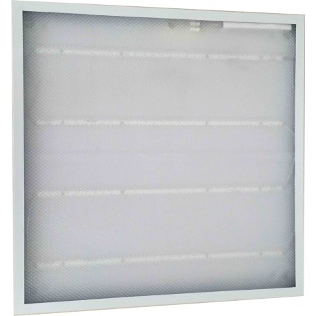 Image of   60x60 36W LED panel - 2880lm, indbygget i hvid ramme