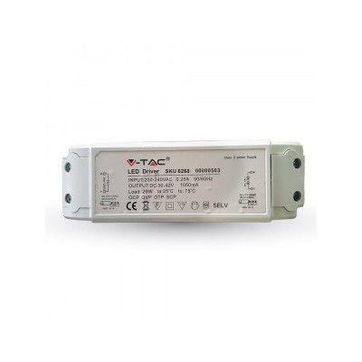 Image of   45W driver til LED panel - Flicker free, passer til vores 45W / 5400lm LED paneler - Dæmpbar : Ikke dæmpbar