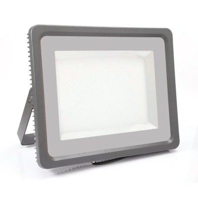 Image of   V-Tac 500W LED projektør - Arbejdslampe, udendørs - Kulør : Neutral, Dæmpbar : Ikke dæmpbar, Farve på hus : Grå / Sort