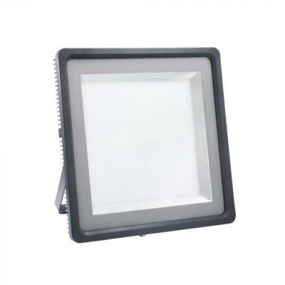Image of   V-Tac 1000W LED projektør - Arbejdslampe, udendørs - Kulør : Neutral, Dæmpbar : Ikke dæmpbar, Farve på hus : Grå / Sort