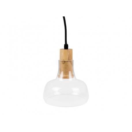 V-Tac pendel lampe - Klar glas, Ø16,5cm, E27