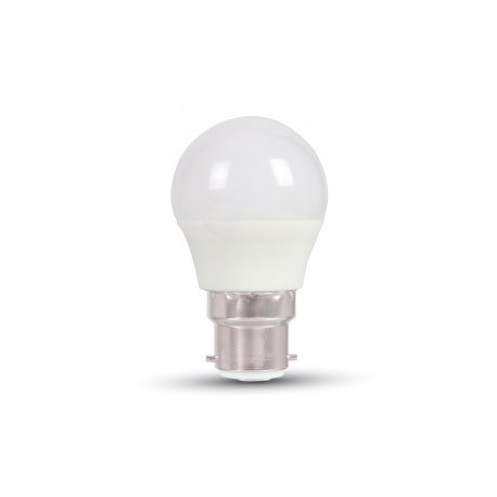 V-Tac 3W LED pære - G45, B22
