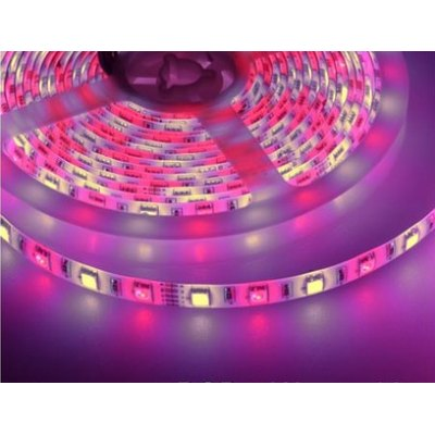 Image of   10,8W/m RGB+WW LED strip - 5m, 60 LED pr. meter