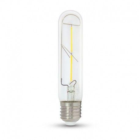 V-Tac 2W LED pære - Kultråd, T30, E27