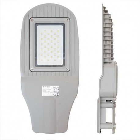 V-Tac 30W LED gadelampe - IP65