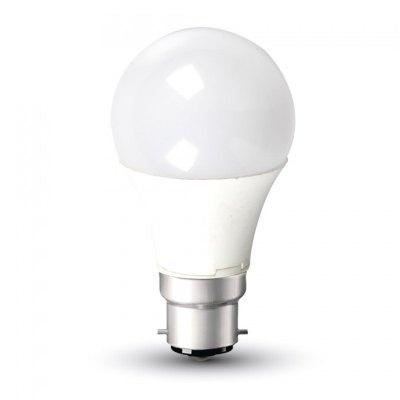 Image of   V-Tac 11W LED pære - B22 - Kulør : Neutral, Dæmpbar : Ikke dæmpbar