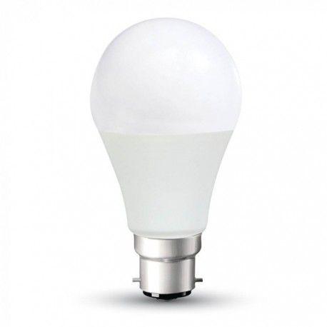 V-Tac 15W LED pære - Kraftig kompakt pære, A65, 200 grader, B22