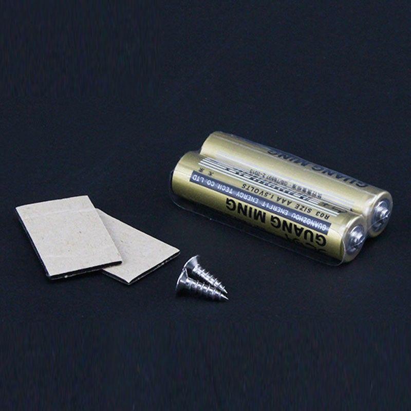 LED skabslampe Med batteri, sensor slukker automatisk