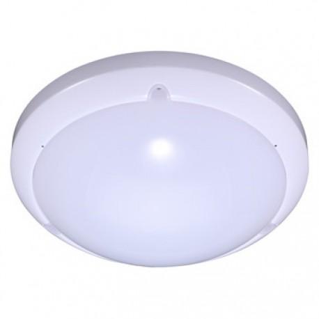 V-Tac lampe med indbygget LED og sensor - Mikrobølge sensor, IP54, 17W